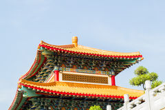 Leng Noei Yi 2 tempel Arkivfoto