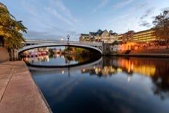 Lengal Bridge York Uk Royalty Free Stock Photography