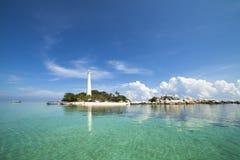 Lengkuas海岛勿里洞岛印度尼西亚 库存图片