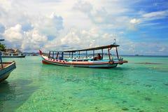 Lengkuas wyspa w Belitung, Indonezja Obraz Stock