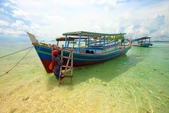 Lengkuas wyspa w Belitung, Indonezja Zdjęcie Stock