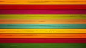 Lengte kleurrijke houten achtergrond 4K animatie stock video