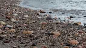 Lengte overzeese golven stock video