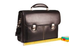 Length of luggage Stock Photography
