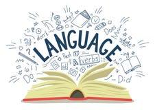 lenguaje stock de ilustración