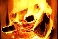 Lenha que queima-se no forno Forno no banho imagens de stock royalty free