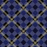 Lenhador azul Cerulean Buffalo Plaid Pattern eps 10 ilustração royalty free