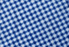 Lenhador azul e branco Plaid Pattern Background imagem de stock royalty free