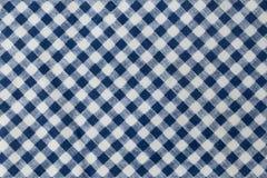 Lenhador azul e branco Plaid Pattern Background fotos de stock royalty free