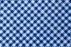 Lenhador azul e branco Plaid Seamless Pattern Fotos de Stock