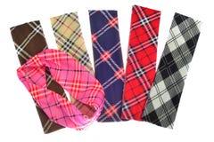 Lenhador Plaid e testes padrões da verificação do búfalo Testes padrões vermelhos, pretos, brancos e caqui da manta, da tartã e d foto de stock royalty free