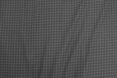 Lenhador preto e branco Plaid Seamless Pattern imagens de stock