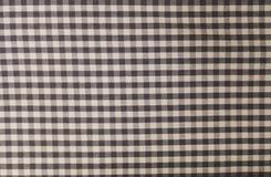 Lenhador preto e branco Plaid Seamless Pattern Fotografia de Stock