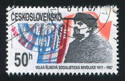 Lenin imagem de stock