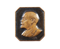 Lenin badge Stock Photos