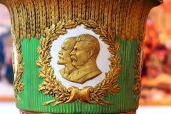 Lenin e Stalin Immagine Stock