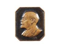 Lenin emblem arkivfoton