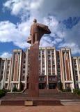 Lenin en Tyraspol foto de archivo