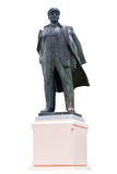 Lenin on isolated background. The Lenin's monument on white background Royalty Free Stock Photo