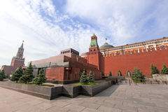 Lenin Mausoleum Royalty Free Stock Images