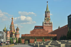The Lenin mausoleum on red square in Moscow. Stock Image