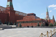 Lenin Mausoleum. Red Square, Moscow Stock Images