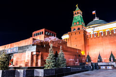 lenin mauzoleum s kreml Moscow Fotografia Royalty Free