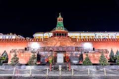 lenin mauzoleum s kreml Moscow Zdjęcie Stock