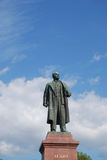 Lenin monument. Monument to Vladimir Illich Lenin in Yalta, Crimea Royalty Free Stock Photo