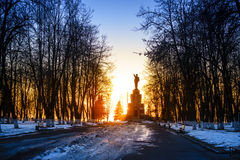 Lenin monument Royalty Free Stock Image
