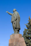 Lenin monument in the city of Ryazan Stock Photos