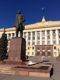 Lenin monument Royalty Free Stock Image