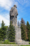 Lenin Monument in Dubna, Moscow Oblast, Russia Stock Images
