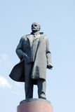 Lenin Monument fragment Stock Photos