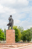 Lenin monument in front of the Executive Committee Stock Photos