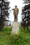 Lenin monument Royalty Free Stock Photography