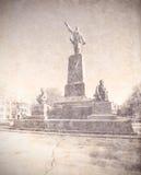 The Lenin monument in Sevastopol. Ukraine. Stock Photography