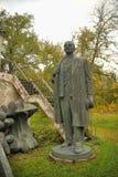Lenin monument standing Stock Photography