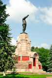 Lenin monument on the territory of Kostroma Kremli Stock Images