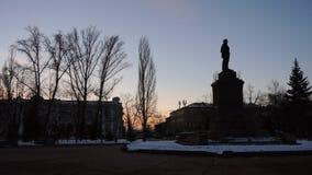 lenin monument till vladimir Royaltyfri Fotografi