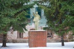 Lenin Monument Stock Image