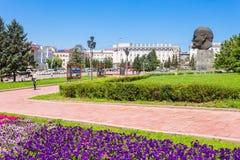 Lenin monument in Ulan-Ude Royalty Free Stock Image
