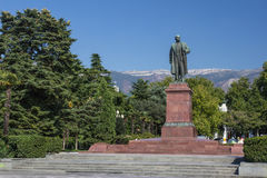 Lenin Monument In Yalta Stock Image