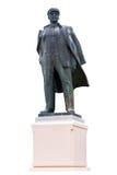 Lenin no fundo isolado Foto de Stock Royalty Free
