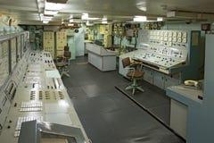 Lenin nuclear icebreaker control dashboard Stock Images