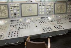 Lenin nuclear icebreaker control dashboard Stock Photos