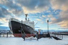 Lenin nuclear icebreaker Stock Photos
