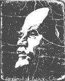 Lenin on poster Stock Photography