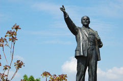 Lenin proclaiming concept of communism Royalty Free Stock Photo