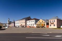 Lenin-Quadrat in Novogrudok, Grodno-Region, Weißrussland stockbild